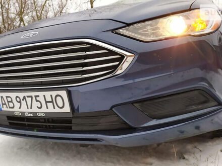 Синий Форд Фьюжн, объемом двигателя 2 л и пробегом 136 тыс. км за 15999 $, фото 1 на Automoto.ua