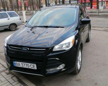Черный Форд Куга, объемом двигателя 1.6 л и пробегом 60 тыс. км за 12999 $, фото 1 на Automoto.ua