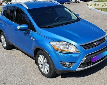Синий Форд Куга, объемом двигателя 2.5 л и пробегом 175 тыс. км за 12300 $, фото 1 на Automoto.ua
