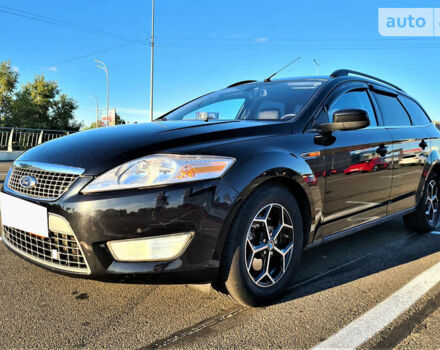 Черный Форд Мондео, объемом двигателя 1.8 л и пробегом 372 тыс. км за 7500 $, фото 1 на Automoto.ua