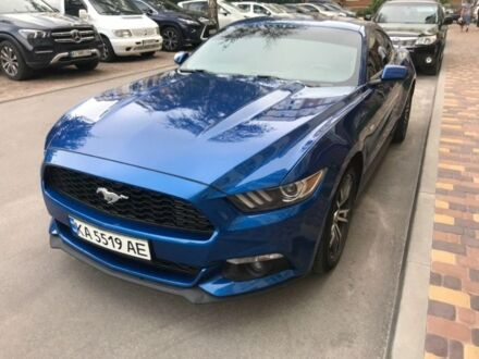 Синій Форд Мустанг, об'ємом двигуна 2.26 л та пробігом 45 тис. км за 24000 $, фото 1 на Automoto.ua
