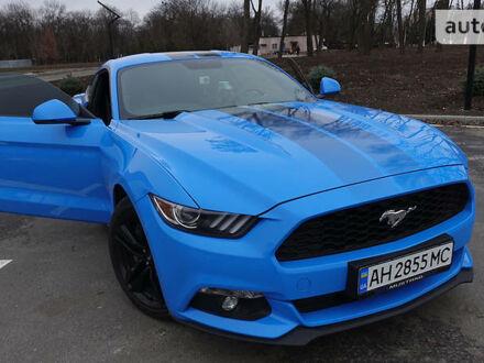 Синій Форд Мустанг, об'ємом двигуна 2.3 л та пробігом 40 тис. км за 27800 $, фото 1 на Automoto.ua