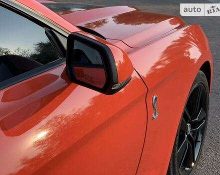 Помаранчевий Форд Мустанг, об'ємом двигуна 2.3 л та пробігом 45 тис. км за 21400 $, фото 1 на Automoto.ua
