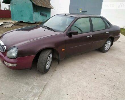 Фиолетовый Форд Скорпио, объемом двигателя 2.5 л и пробегом 450 тыс. км за 3000 $, фото 1 на Automoto.ua
