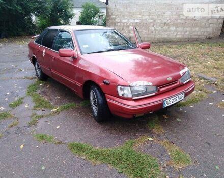 Красный Форд Скорпио, объемом двигателя 2 л и пробегом 333 тыс. км за 1400 $, фото 1 на Automoto.ua