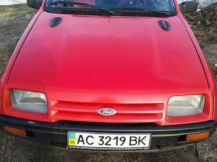 Червоний Форд Сієрра, об'ємом двигуна 2.3 л та пробігом 200 тис. км за 1600 $, фото 1 на Automoto.ua