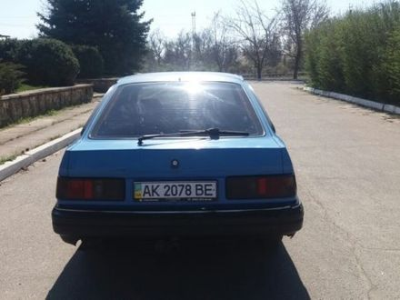 Синій Форд Сієрра, об'ємом двигуна 2 л та пробігом 87 тис. км за 1500 $, фото 1 на Automoto.ua