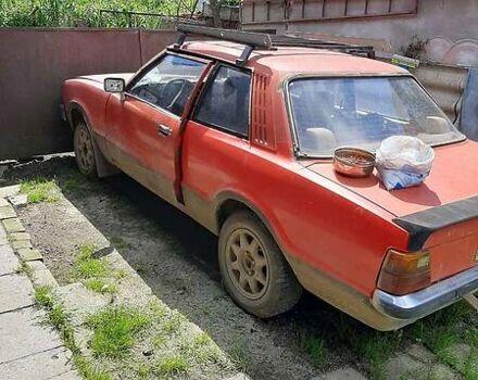 Красный Форд Таунус, объемом двигателя 2 л и пробегом 198 тыс. км за 950 $, фото 1 на Automoto.ua