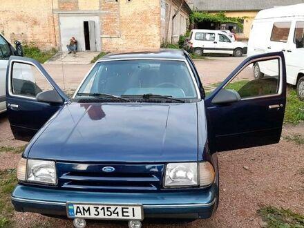 Синій Форд Темпо, об'ємом двигуна 1.6 л та пробігом 214 тис. км за 2300 $, фото 1 на Automoto.ua