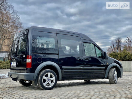 Черный Форд Транзит Коннект пасс., объемом двигателя 1.8 л и пробегом 230 тыс. км за 6800 $, фото 1 на Automoto.ua