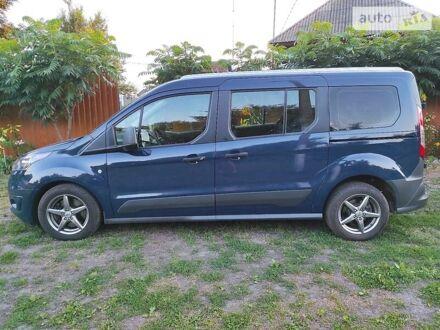 Синій Форд Транзит Коннект пас., об'ємом двигуна 1.5 л та пробігом 196 тис. км за 14800 $, фото 1 на Automoto.ua