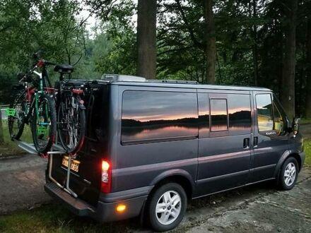 Серый Форд Transit Custom пасс., объемом двигателя 2.2 л и пробегом 198 тыс. км за 13500 $, фото 1 на Automoto.ua
