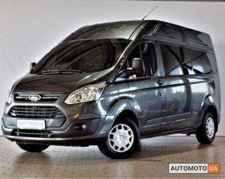 Сірий Форд Транзит Кастом, об'ємом двигуна 4.4 л та пробігом 2 тис. км за 32755 $, фото 1 на Automoto.ua