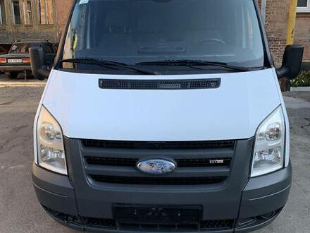 Белый Форд Транзит груз., объемом двигателя 2.5 л и пробегом 64 тыс. км за 10000 $, фото 1 на Automoto.ua