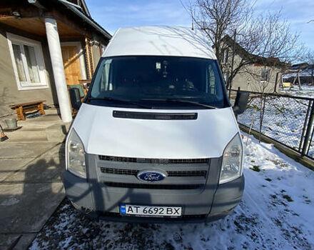 Белый Форд Транзит груз., объемом двигателя 2.4 л и пробегом 187 тыс. км за 11500 $, фото 1 на Automoto.ua