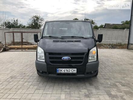 Черный Форд Transit груз.-пасс., объемом двигателя 2.2 л и пробегом 276 тыс. км за 9300 $, фото 1 на Automoto.ua