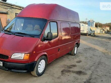 Червоний Форд Transit груз.-пасс., об'ємом двигуна 2.5 л та пробігом 300 тис. км за 3500 $, фото 1 на Automoto.ua