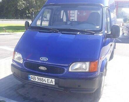 Синий Форд Транзит груз., объемом двигателя 2.5 л и пробегом 228 тыс. км за 6000 $, фото 1 на Automoto.ua