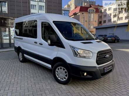 Білий Форд Транзит пас., об'ємом двигуна 2.2 л та пробігом 11 тис. км за 31900 $, фото 1 на Automoto.ua