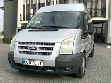 Серый Форд Транзит пасс., объемом двигателя 2.2 л и пробегом 269 тыс. км за 12999 $, фото 1 на Automoto.ua