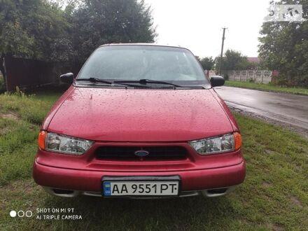 Красный Форд Виндстар, объемом двигателя 3 л и пробегом 367 тыс. км за 5200 $, фото 1 на Automoto.ua