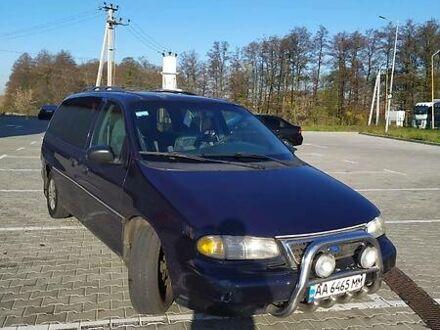 Синий Форд Виндстар, объемом двигателя 3.8 л и пробегом 276 тыс. км за 4700 $, фото 1 на Automoto.ua