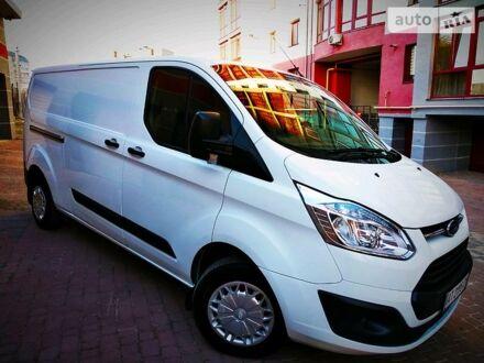 Белый Форд Transit Custom груз., объемом двигателя 2.2 л и пробегом 320 тыс. км за 12500 $, фото 1 на Automoto.ua