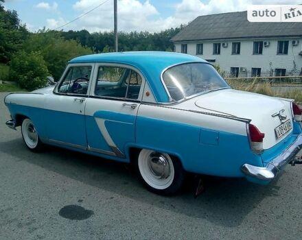 Синий ГАЗ 21, объемом двигателя 2.45 л и пробегом 13 тыс. км за 5500 $, фото 1 на Automoto.ua