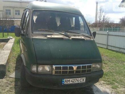 Зеленый ГАЗ 2217 Соболь, объемом двигателя 2.3 л и пробегом 86 тыс. км за 2600 $, фото 1 на Automoto.ua