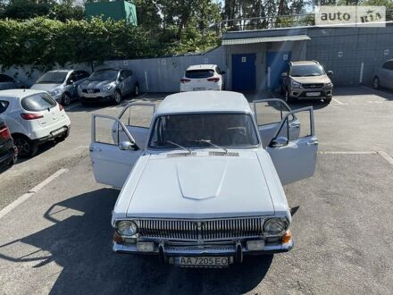 Белый ГАЗ 24, объемом двигателя 2.4 л и пробегом 70 тыс. км за 1490 $, фото 1 на Automoto.ua