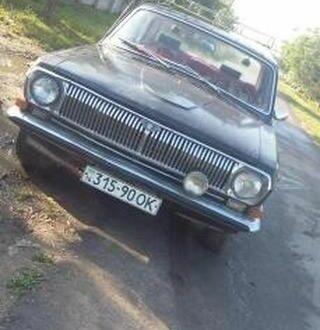 Черный ГАЗ 24, объемом двигателя 2 л и пробегом 1 тыс. км за 480 $, фото 1 на Automoto.ua