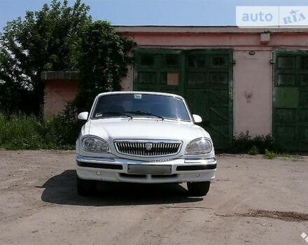 Белый ГАЗ 31105, объемом двигателя 3.1 л и пробегом 180 тыс. км за 2000 $, фото 1 на Automoto.ua