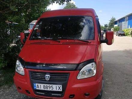 Красный ГАЗ 32213 Газель, объемом двигателя 2.5 л и пробегом 178 тыс. км за 3100 $, фото 1 на Automoto.ua