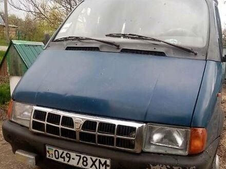 Синий ГАЗ 32213 Газель, объемом двигателя 2.5 л и пробегом 75 тыс. км за 2999 $, фото 1 на Automoto.ua