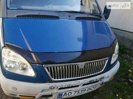 Синий ГАЗ 32213 Газель, объемом двигателя 2.4 л и пробегом 389 тыс. км за 2799 $, фото 1 на Automoto.ua