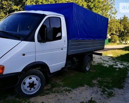 Белый ГАЗ 33021 Газель, объемом двигателя 3 л и пробегом 100 тыс. км за 2500 $, фото 1 на Automoto.ua