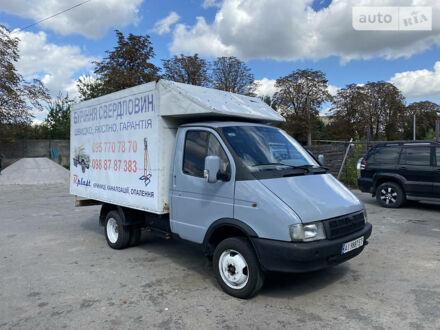 Серый ГАЗ 33021 Газель, объемом двигателя 2.5 л и пробегом 20 тыс. км за 3000 $, фото 1 на Automoto.ua