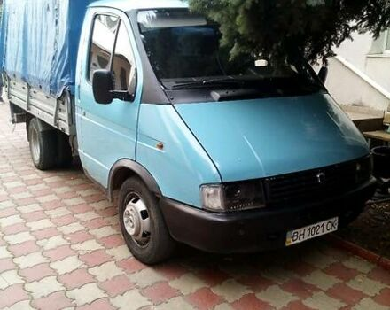 Синий ГАЗ 33021 Газель, объемом двигателя 2.4 л и пробегом 286 тыс. км за 2650 $, фото 1 на Automoto.ua