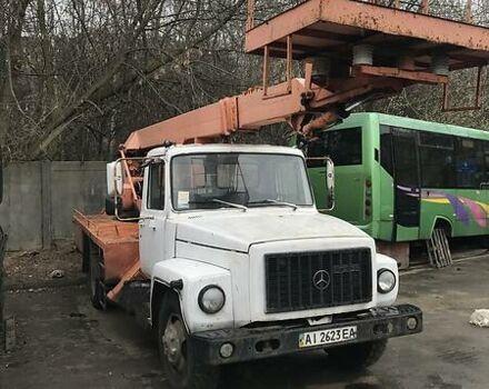 Белый ГАЗ 3309, объемом двигателя 4.8 л и пробегом 122 тыс. км за 20000 $, фото 1 на Automoto.ua
