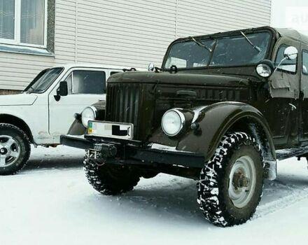 Зеленый ГАЗ 69, объемом двигателя 2.4 л и пробегом 100 тыс. км за 4000 $, фото 1 на Automoto.ua