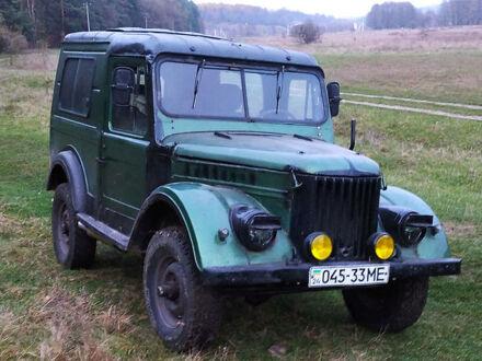 Зеленый ГАЗ 69, объемом двигателя 2.5 л и пробегом 100 тыс. км за 2300 $, фото 1 на Automoto.ua