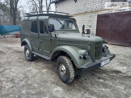 Зеленый ГАЗ 69, объемом двигателя 2.1 л и пробегом 100 тыс. км за 3600 $, фото 1 на Automoto.ua