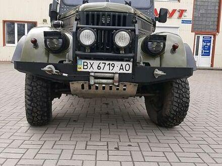 Зеленый ГАЗ 69, объемом двигателя 2.4 л и пробегом 100 тыс. км за 5300 $, фото 1 на Automoto.ua