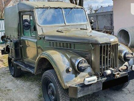 Зеленый ГАЗ 69, объемом двигателя 2.2 л и пробегом 10 тыс. км за 2500 $, фото 1 на Automoto.ua