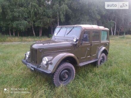 Зелений ГАЗ 69A, об'ємом двигуна 2.4 л та пробігом 85 тис. км за 2100 $, фото 1 на Automoto.ua