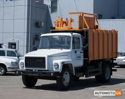 Серый ГАЗ Мусоровоз, объемом двигателя 4.43 л и пробегом 0 тыс. км за 45443 $, фото 1 на Automoto.ua