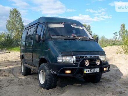 Зеленый ГАЗ Соболь, объемом двигателя 2.3 л и пробегом 12 тыс. км за 4000 $, фото 1 на Automoto.ua