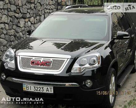 Черный ДжиЭмСи Акадия, объемом двигателя 3.6 л и пробегом 145 тыс. км за 22000 $, фото 1 на Automoto.ua