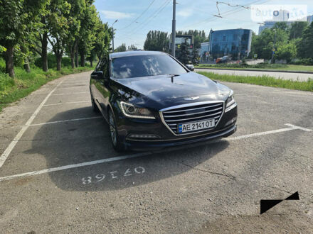 Чорний Генезис G80, об'ємом двигуна 3.3 л та пробігом 59 тис. км за 21500 $, фото 1 на Automoto.ua