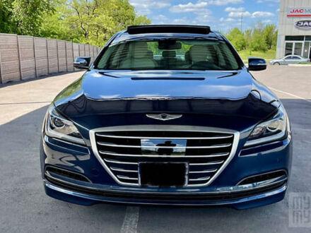 Синій Генезис G80, об'ємом двигуна 3.8 л та пробігом 35 тис. км за 21900 $, фото 1 на Automoto.ua